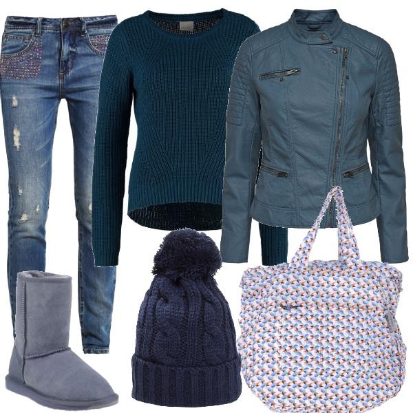 Outfit Questione di blu