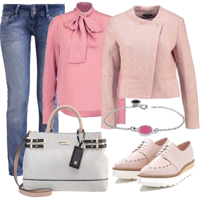Outfit Casual bon ton