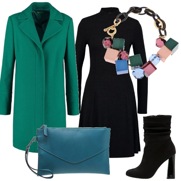 Outfit Collana cubista
