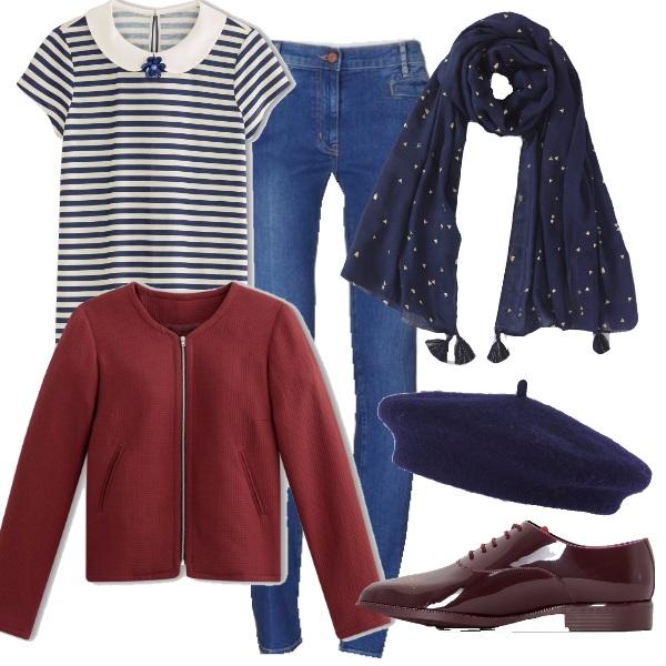 Outfit Il basco fa Francia