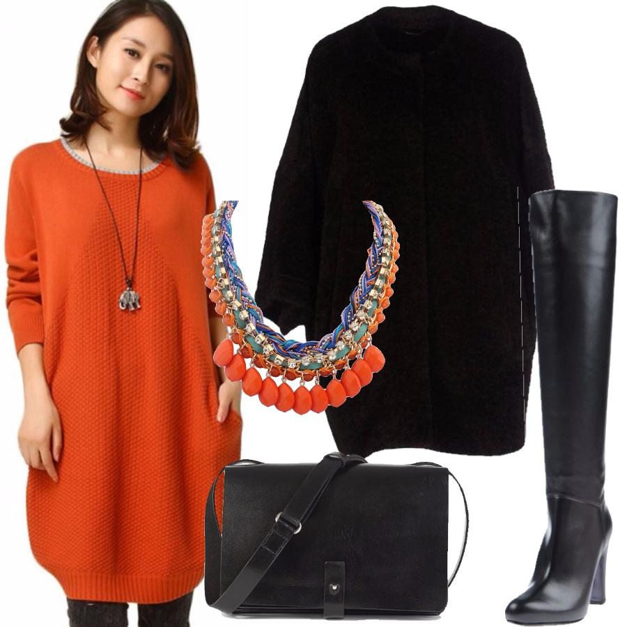 Outfit Se arancione vuol dire autunno...