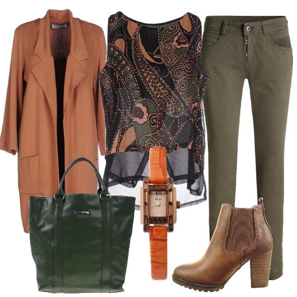 Outfit Privilegiando il comfort