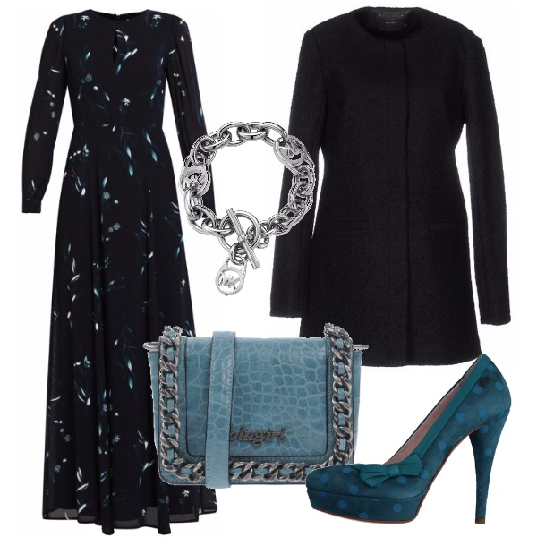 Outfit Tocchi di azzurro