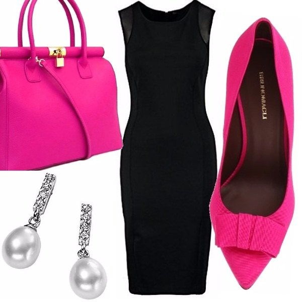 Outfit Pink office