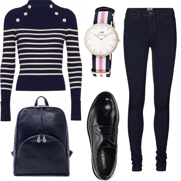 Outfit In viaggio per lavoro