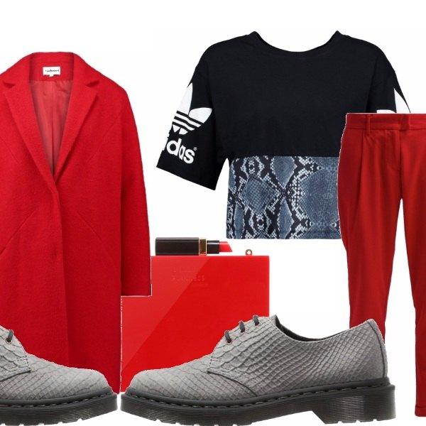 Outfit Rosso di sera..