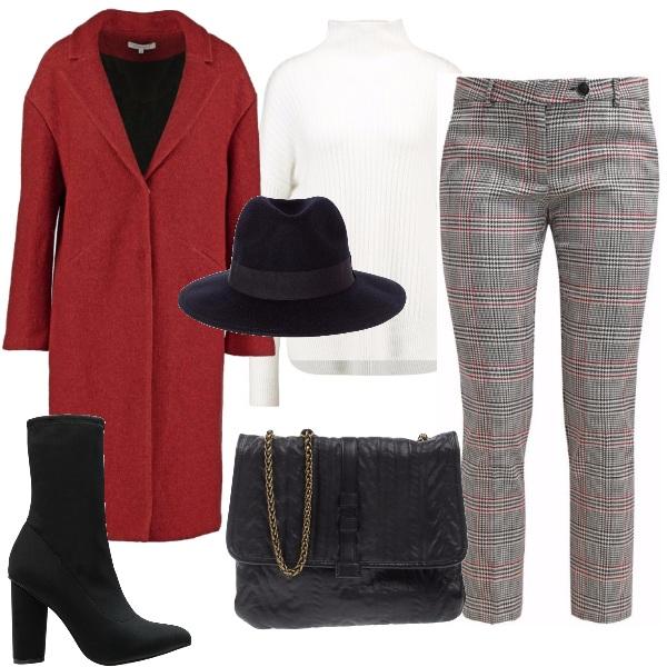 Outfit Il cappotto rosso