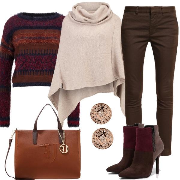 Outfit Al lavoro con il freddo