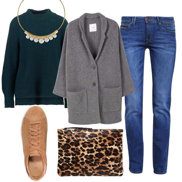 Outfit Casual intrigante