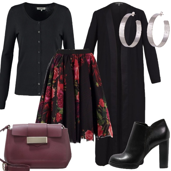 Outfit La gonna particolare