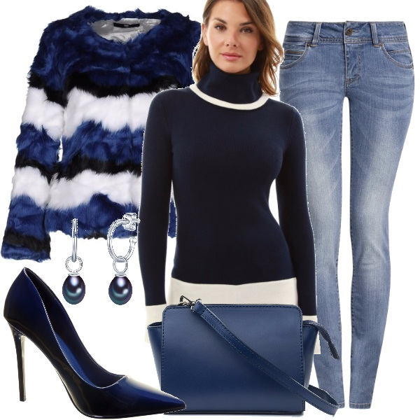 Outfit Il jeans push up