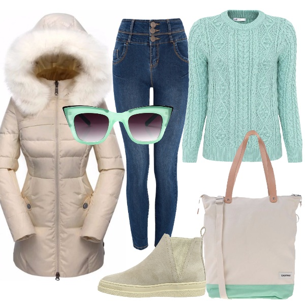 Outfit Menta invernale