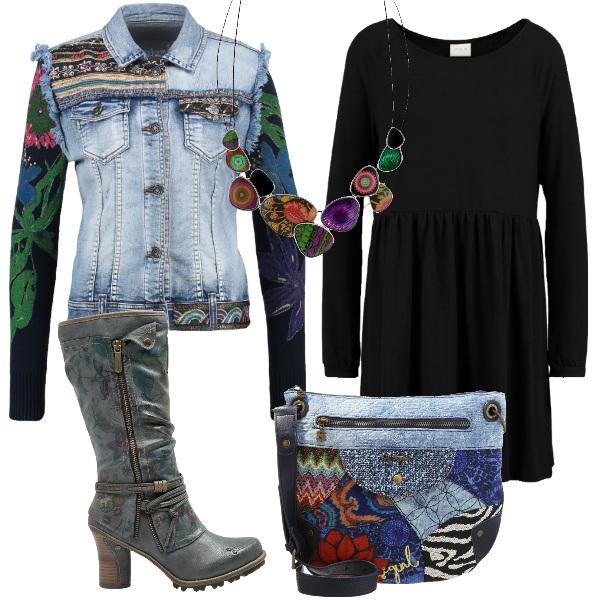Outfit Tuffo nei colori