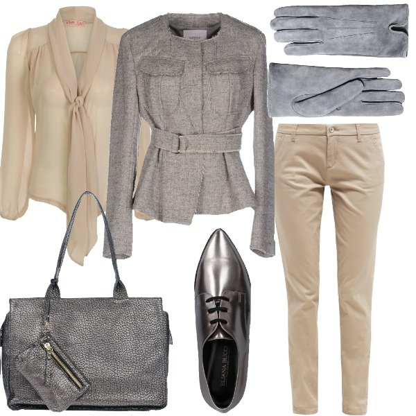 Outfit Professionale in mannish