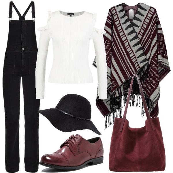 Outfit Mantella e cappello