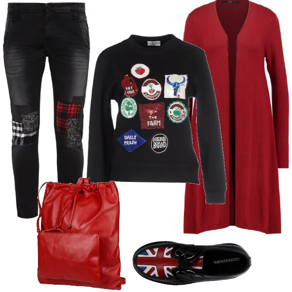 Outfit Viva l'Inghilterra