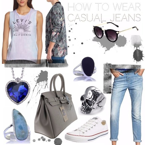 Outfit Everyday denim