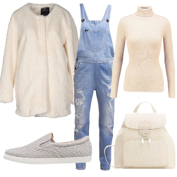 Outfit Salopette d'inverno