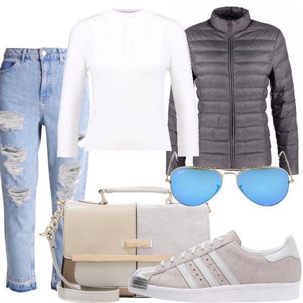 Outfit Sfumature d'argento