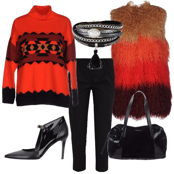 Outfit Alternativo chic
