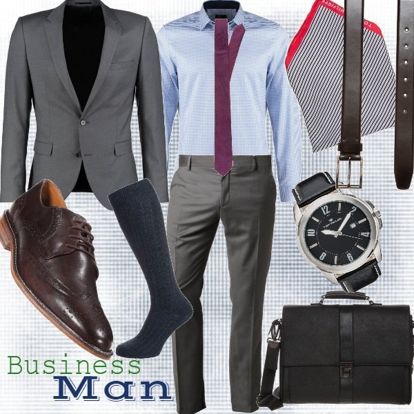 Outfit Business Man