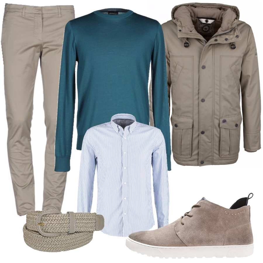 Outfit Beige fuori