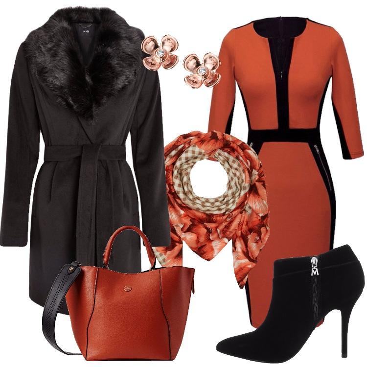 Outfit La luce dell'arancione