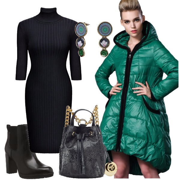 Outfit Tuffo nel verde