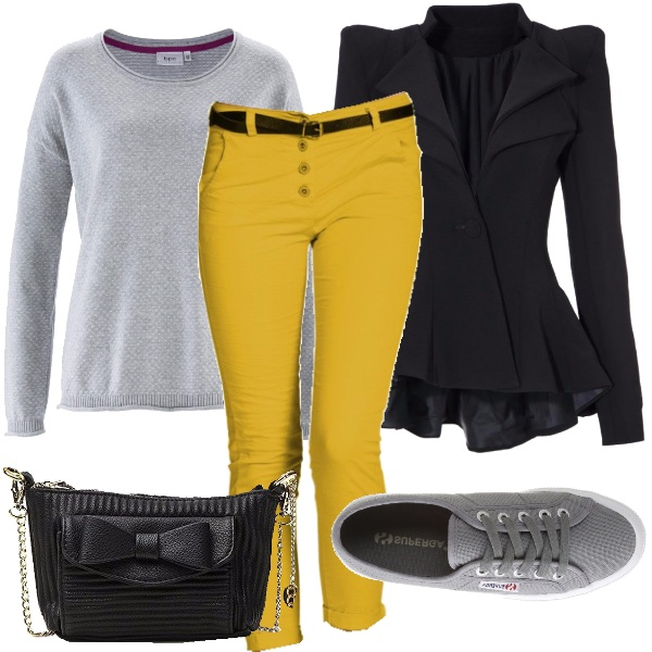 Outfit Spicy mustard il tuo colore autunnale