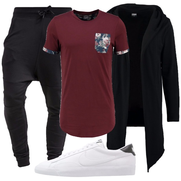 Outfit Taschino floreale