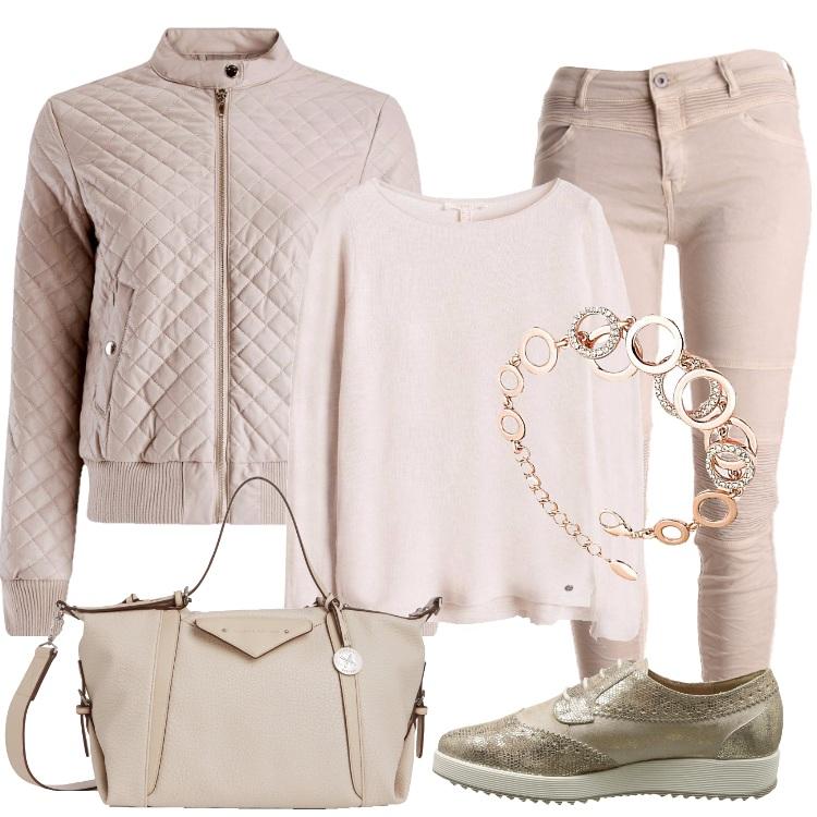 Outfit Per l'autunno colori neutri