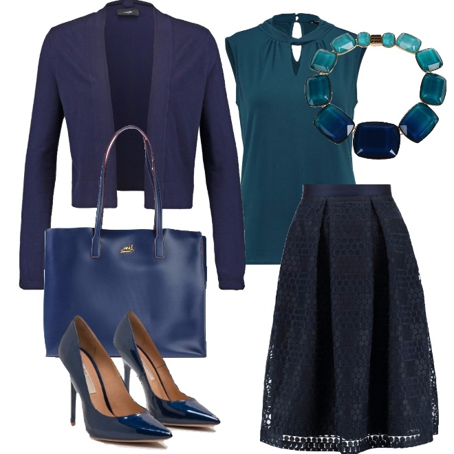 Outfit Elegante in gonna