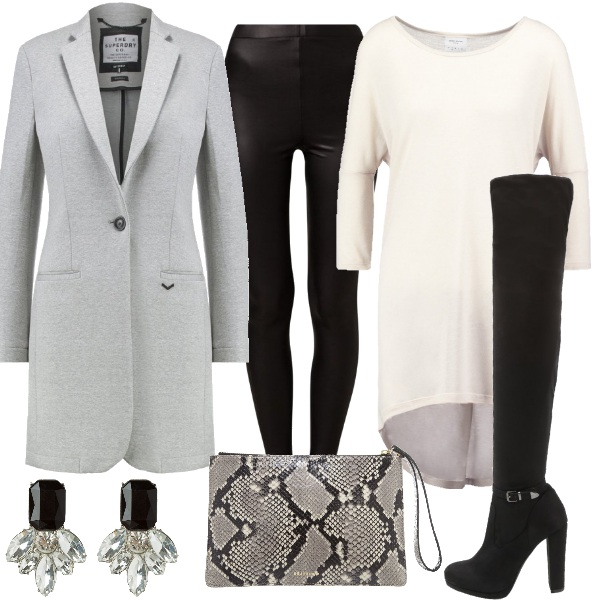 Outfit Stivali glam