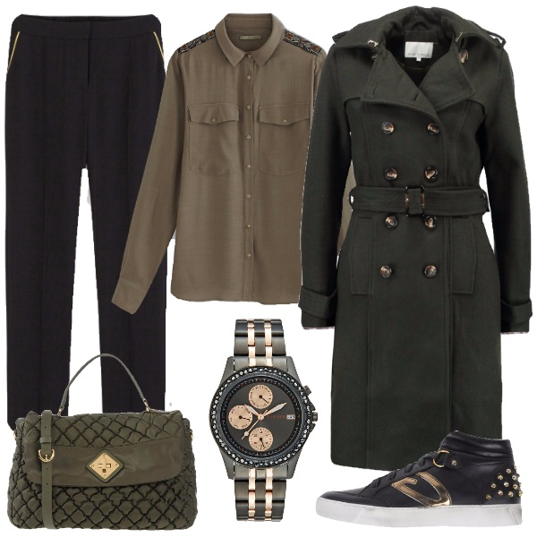 Outfit Verde militare