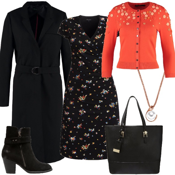 Outfit Vestitino floreale