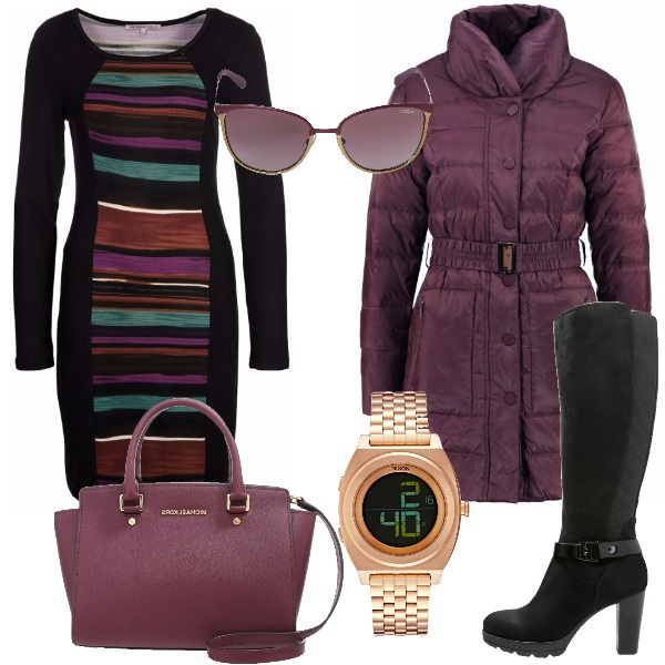 Outfit Moda curvy invernale