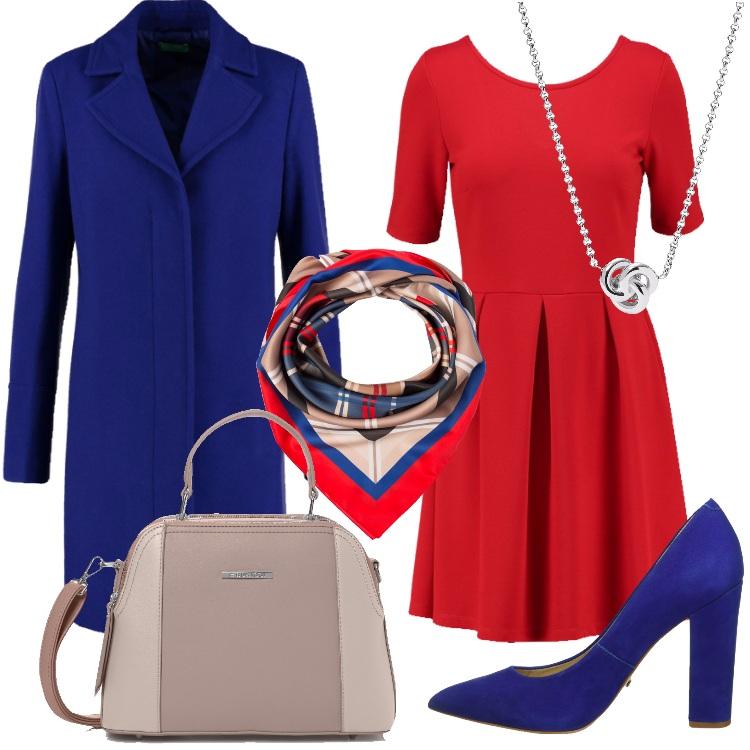 Outfit L'abito rosso
