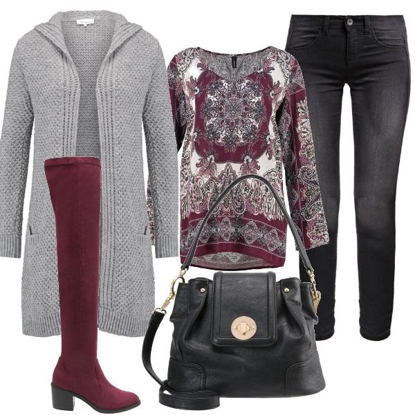Outfit Stivali e fantasia