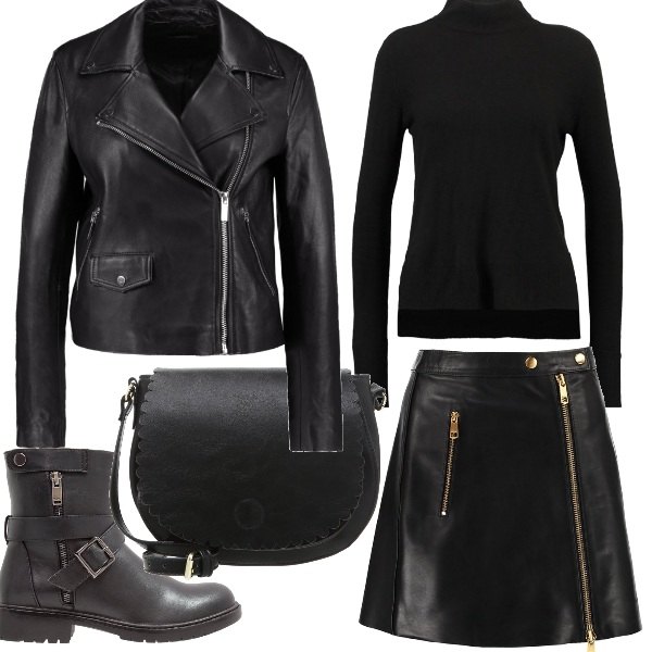 Outfit Total black