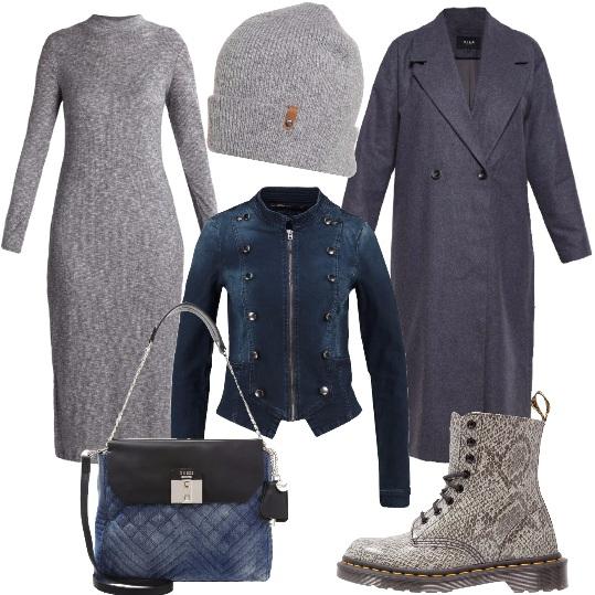 Outfit Tu, l'autunno, la città e il grigio