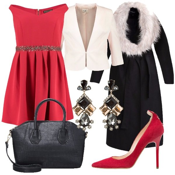 Outfit R come rosso