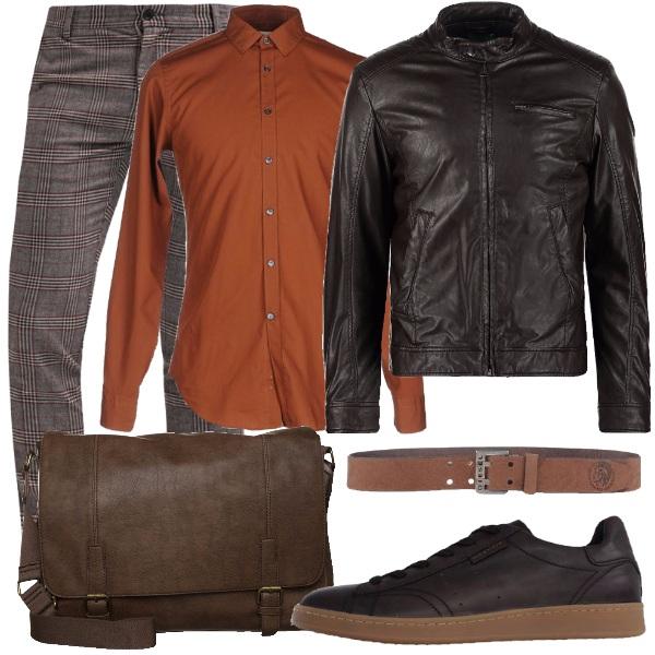 Outfit Colori caldi per lui