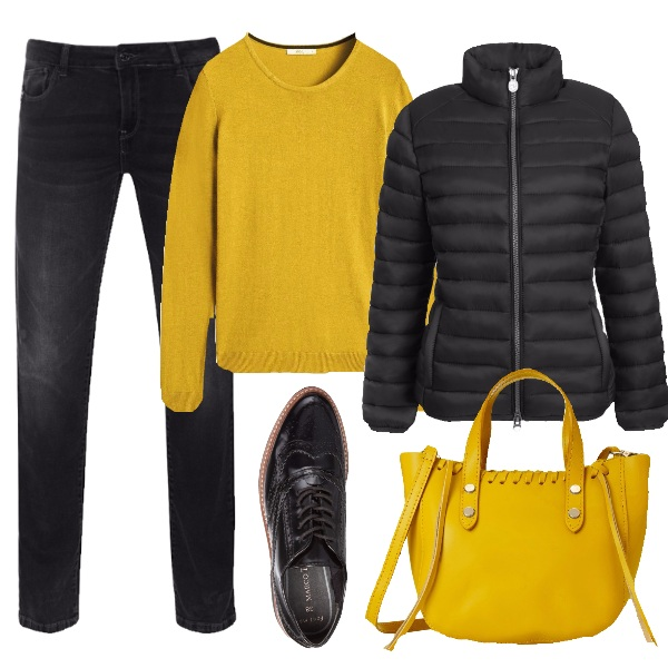Outfit Spicy mustard di tendenza
