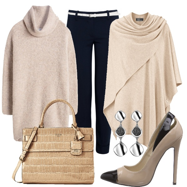 Outfit Elegante beige