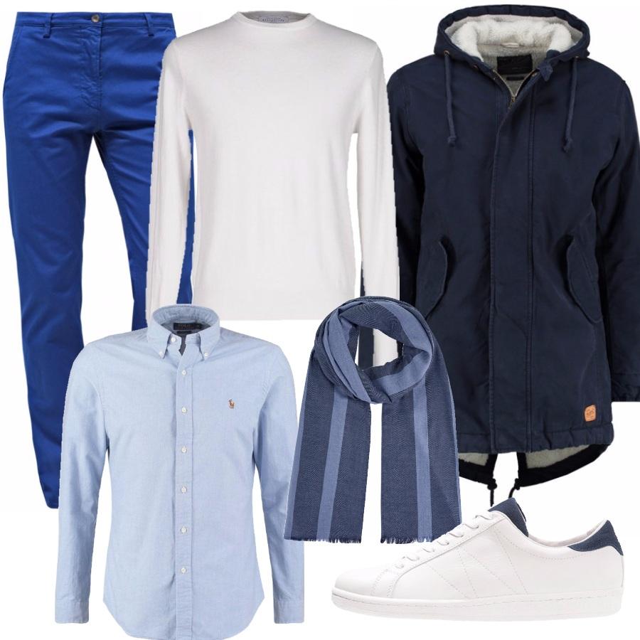 Outfit Blu ma luminoso