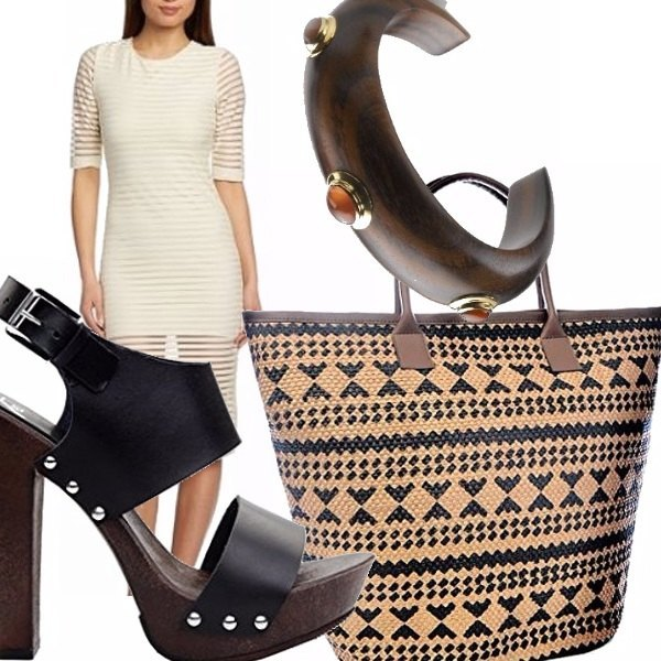 Outfit Wood chic