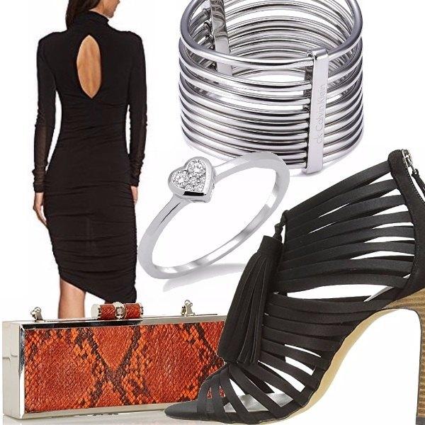 Outfit Borsa arancione