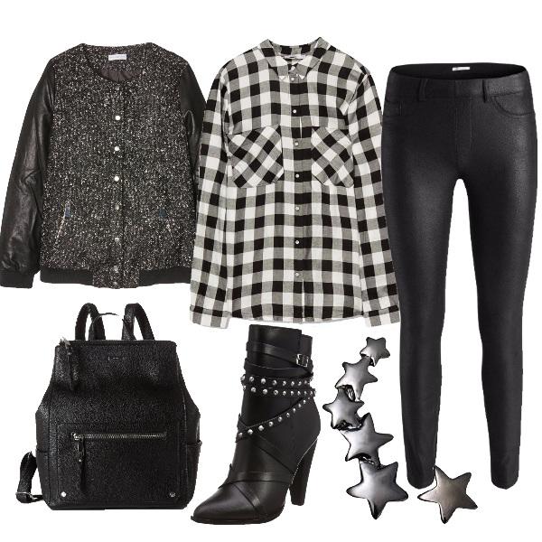 Outfit In modalità rock