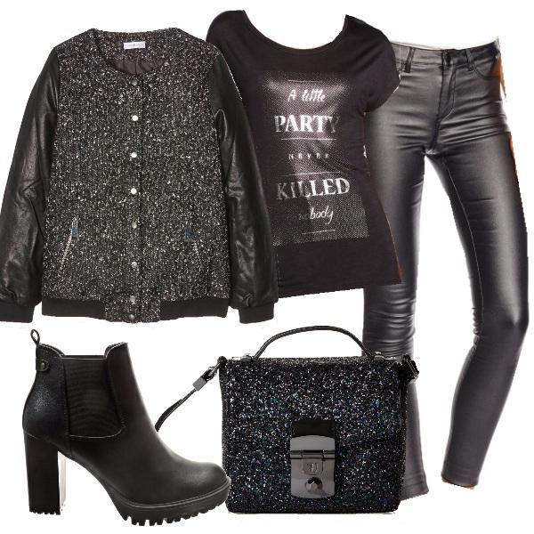 Outfit Festa rock
