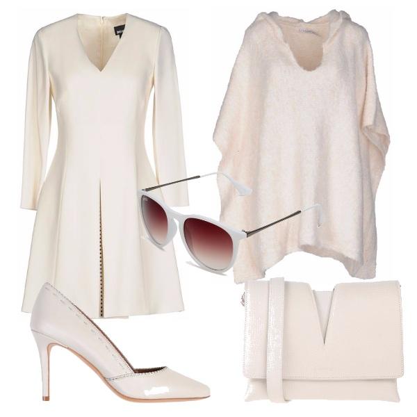 Outfit Bianco da cerimonia
